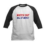 WATCH OUT. BALL OF ENERGY Baseball Jersey