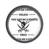 Pirate Wall Clocks
