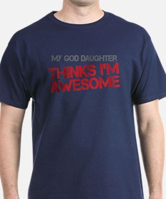 God Daughter Awesome T-Shirt