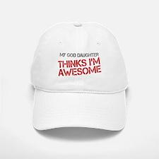 God Daughter Awesome Baseball Baseball Cap