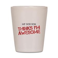 God Son Awesome Shot Glass