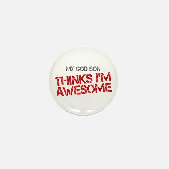 God Son Awesome Mini Button