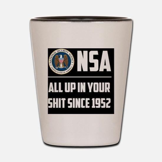 nsa Shot Glass