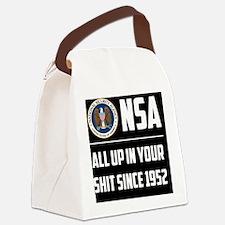 nsa Canvas Lunch Bag