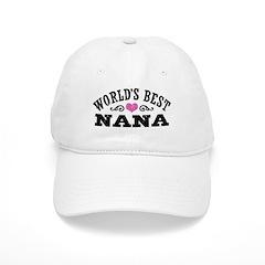 World's Best Nana Baseball Cap