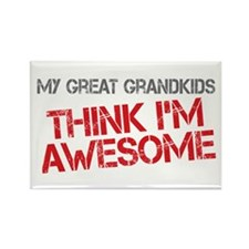 Great Grandkids Awesome Rectangle Magnet