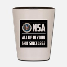 NSA Shot Glass