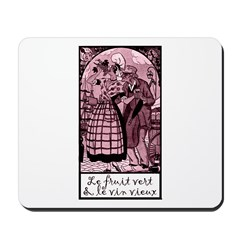 Old Wine French Mousepad