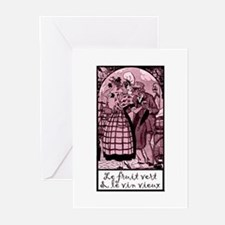 Old Wine French Greeting Cards (Pk of 10)