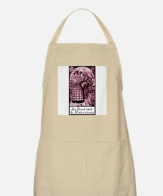 Old Wine French BBQ Apron
