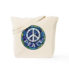 Peace (type) Tote Bag
