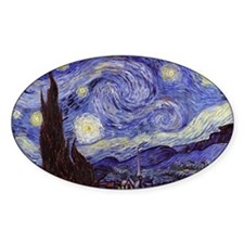 Vincent Van Gogh Starry Night Decal