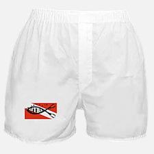 scuba fish flag LP Boxer Shorts