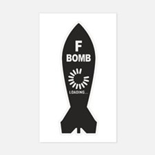 F Bomb Loading Decal