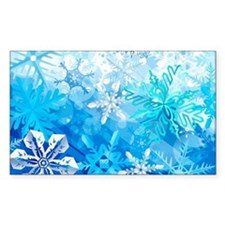 Beautiful Snowflakes Decal
