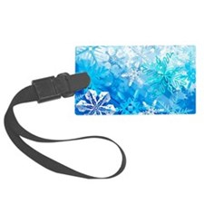 Beautiful Snowflakes Luggage Tag