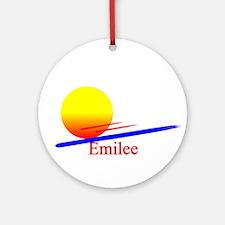 Emilee Ornament (Round)