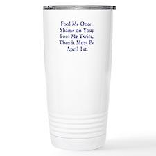 April Fools Day Travel Mug