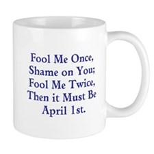 April Fools Day Mugs