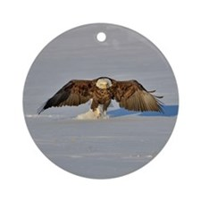 Eagle running Ornament (Round)