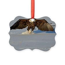 Eagle running Ornament