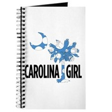 Lt Blue Polka Dot Carolina Girl 2 Journal