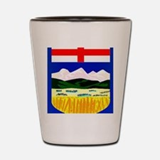 Flag of Alberta Shot Glass