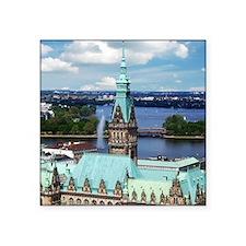 Hamburg Town Hall Sticker