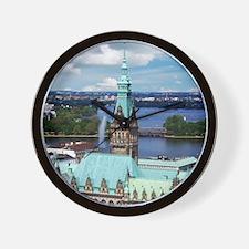 Hamburg Town Hall Wall Clock