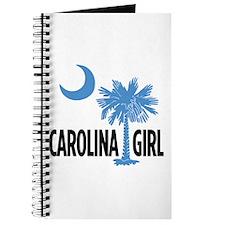 Light Blue Carolina Girl 2 Journal