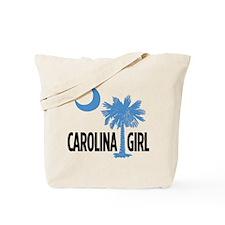 Light Blue Carolina Girl 2 Tote Bag