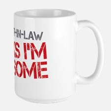 Sister-In-Law Awesome Large Mug