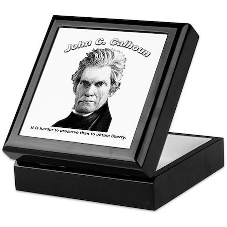 John C. Calhoun 01 Keepsake Box