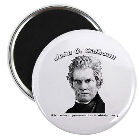 "John C. Calhoun 01 2.25"" Magnet (10 pack)"