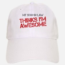 Son-In-Law Awesome Baseball Baseball Cap