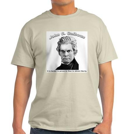 John C. Calhoun 01 Light T-Shirt
