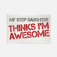 Step Daughter Awesome Rectangle Magnet