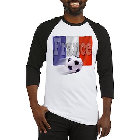 Soccer Flag France Baseball Jersey