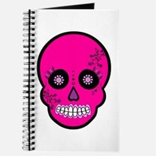 Pink Sugar Skull Day of the Dead Journal