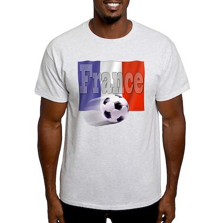 Soccer Flag France Light T-Shirt
