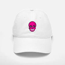 Pink Sugar Skull Day of the Dead Baseball Baseball Cap