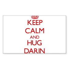 Keep Calm and HUG Darin Decal