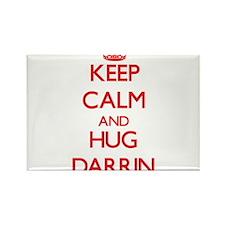 Keep Calm and HUG Darrin Magnets