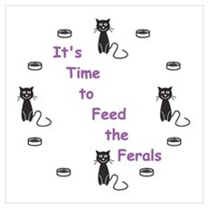 Feral Time Framed Print
