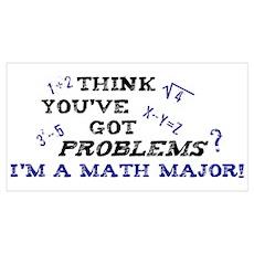 Math Major Poster