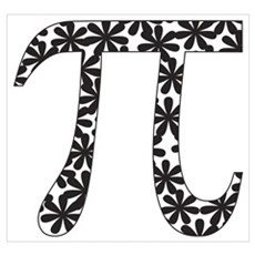 Floral Pi Poster And Wall Art Poster