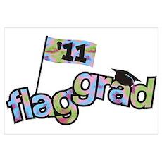 Color Guard Grad Poster
