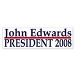 John Edwards 2008 bumper sticker