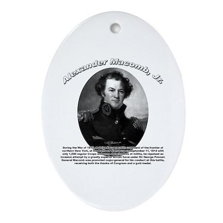 Alexander Macomb Jr. Oval Ornament