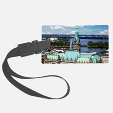 Hamburg Town Hall Luggage Tag